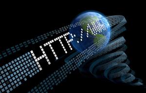 3d Internet Domain Concept