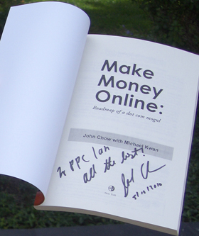 John Chow Make Money Online Book