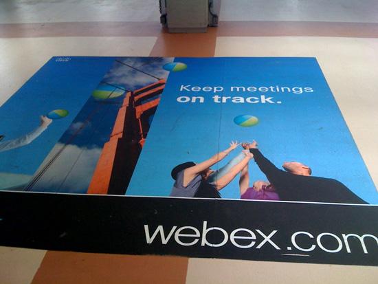 WebEx Caltrain Floor