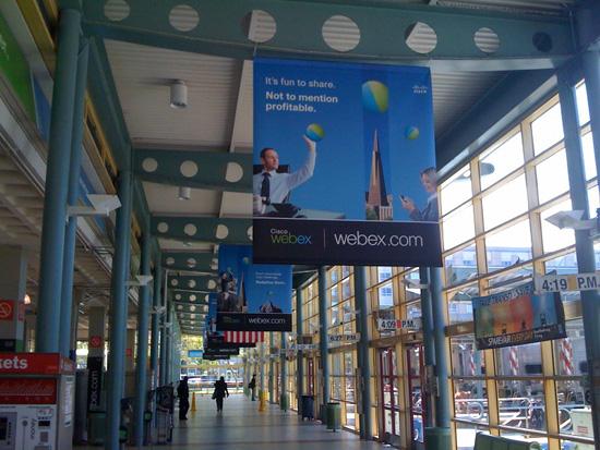 WebEx Caltrain Station