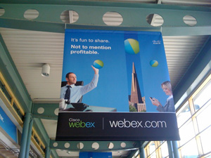 WebEx Caltrain Station Takeover