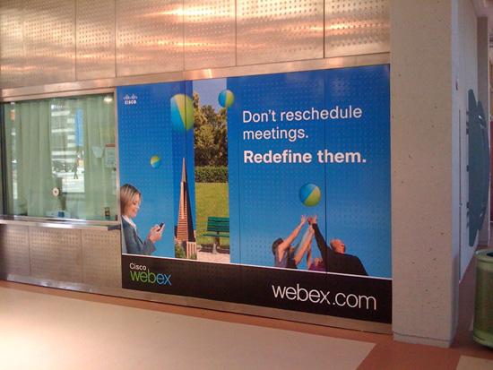 WebEx Caltrain Ticket Window