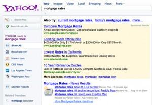 Google Advertising On Yahoo