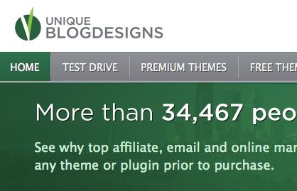 Unique Blog Designs Site