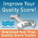WordStream Quality Score Toolkit