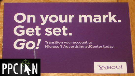 Yahoo! Microsoft Search Alliance Mail