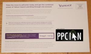 Yahoo! Microsoft Search Alliance Mail 2