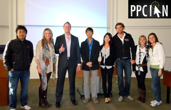 PPC Ian with Stanford GSB Students