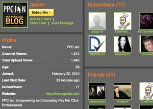 PPC Ian YouTube Channel