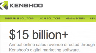 Kenshoo 15 Billion Online Sales Revenue