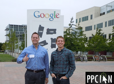 PPC Ian and Kit (Google Employee) at Google Mountain View