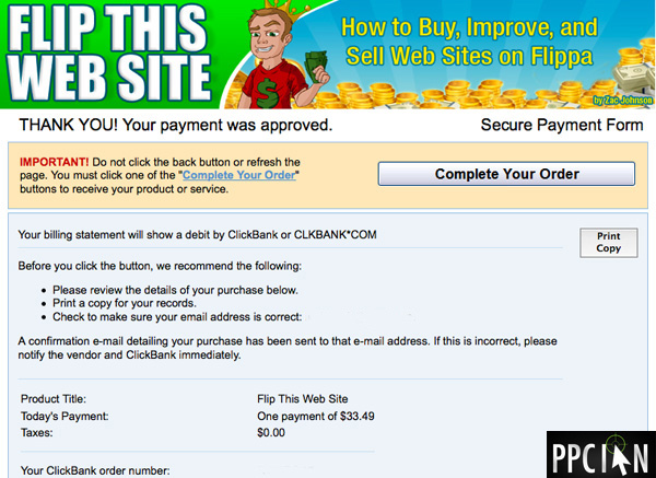 How to make thousands buying and selling websites ppc ian for Buy and sell online sites