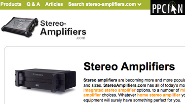 Stereo Amplifiers