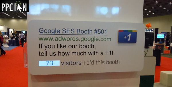 Google Plus One SES San Francisco