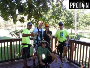 Maui Zipline Team