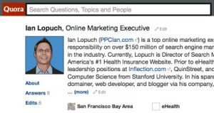 Ian Lopuch Quora