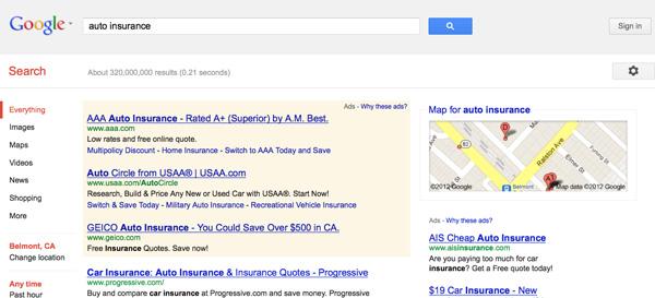 Google Auto Insurance