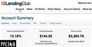 Lending Club Account