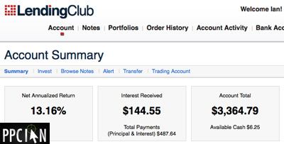 Lending Club Account