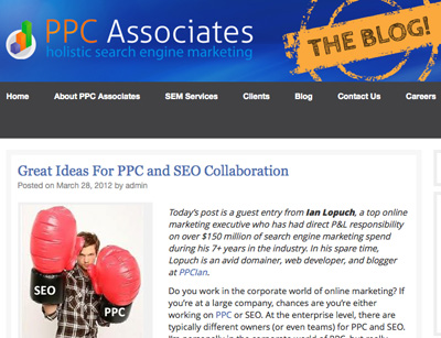 PPC and SEO Collaboration
