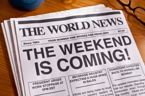 The Weekend Is Coming