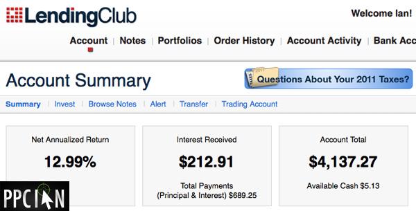 Lending Club PPC Ian