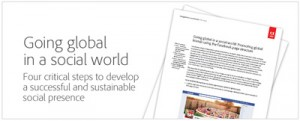 Going Global In A Social World