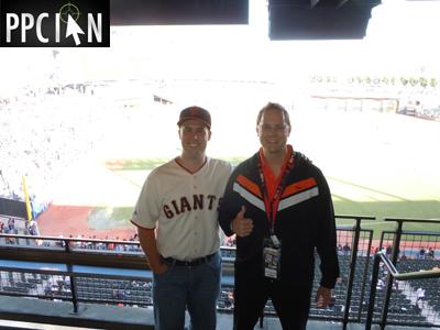 Google Giants Dodgers Game Ryan and Ian