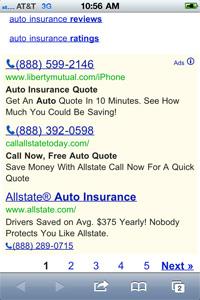 Mobile Smartphone Ads