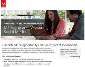 Managing and Measuring Social Media