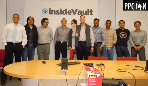 InsideVault Team and PPC Ian