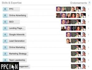 LinkedIn Skills Endorsement