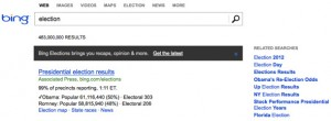 Bing Election Results