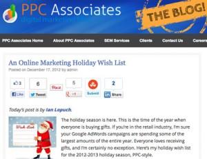 PPC Associates Guest Blog Post