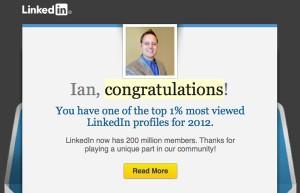 LinkedIn Top 1 Percent