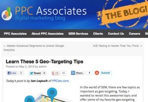 5 Geo-Targeting Tips