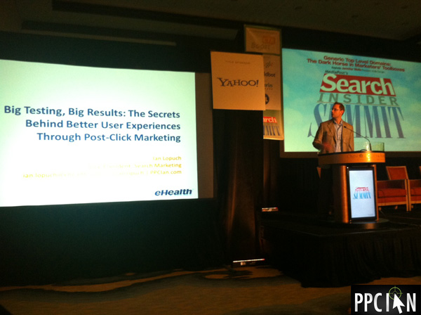 Presenting At MediaPost Search Insider Summit