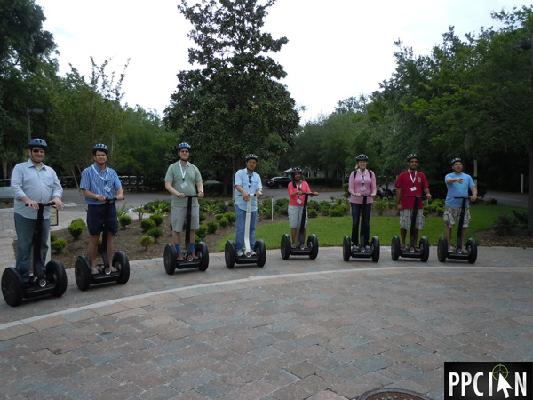 Search Insider Summit Segway Tour
