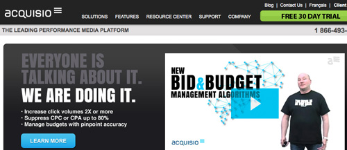 Acquisio Bid and Budget Management Algorithms