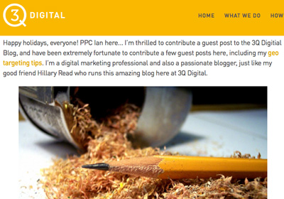 3Q Digital Company Blog Guest Post