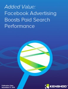 Facebook Advertising Boosts Paid Search Performance
