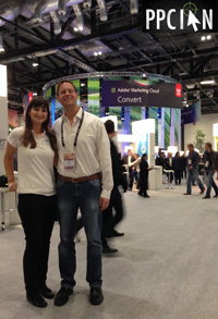 Adobe Summit EMEA Ian and Nicole