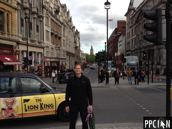 Ian Lopuch In London