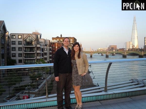 Ian and Nicole Lopuch In London