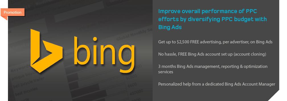 Acquisio Bing Promotion