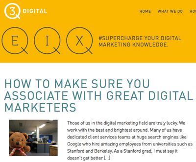 3Q Digital Guest Post Associate Great People