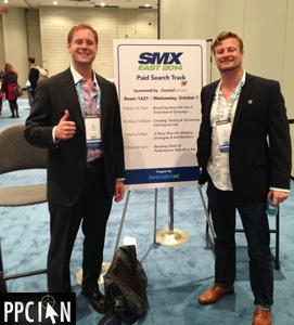 Ian and Jay Speaking At SMX East