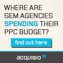 Acquisio Agency Budgets