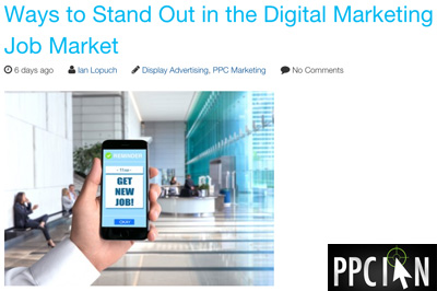 Digital Marketing Job Market