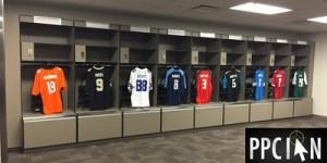 Visiting Team Lockers Levis Stadium